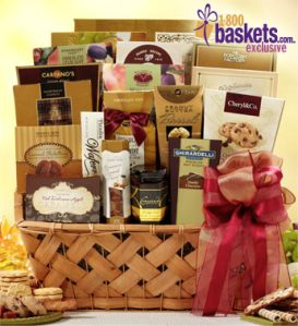 Bountiful Sweets Gift Basket